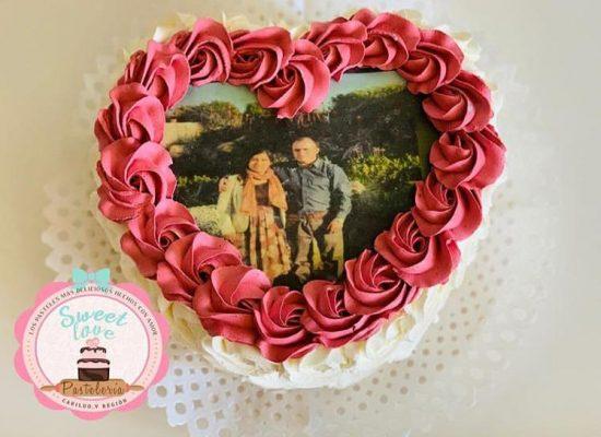 Cake San Valentín