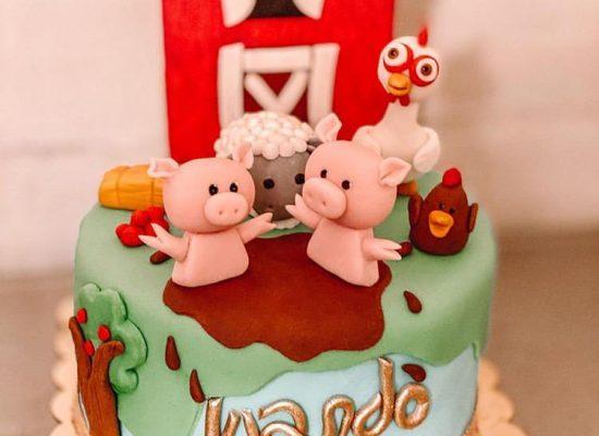 Cake la granja de Zenon