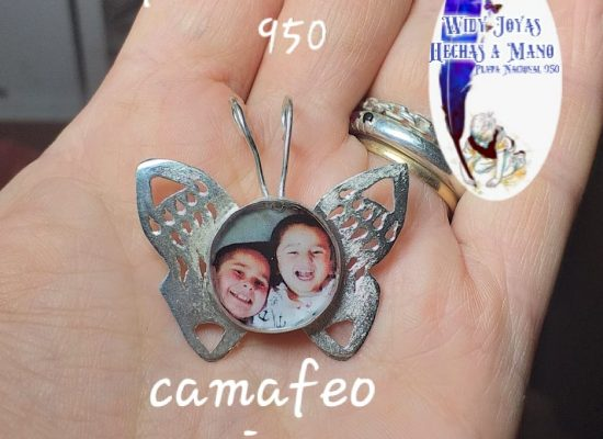 Camafeo mariposa