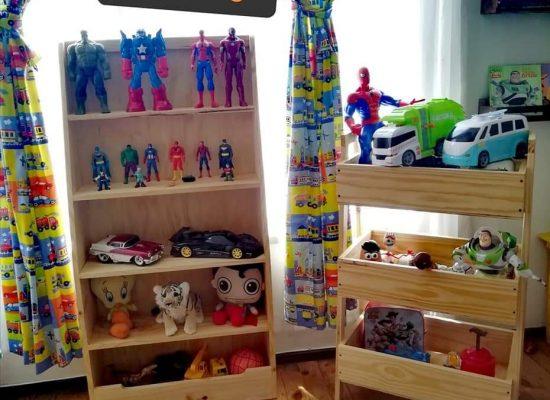 Estantes y organizadores de juguetes