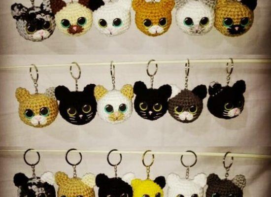Llaveros gatitos