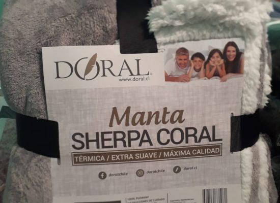 Manta Sherpa Dolar