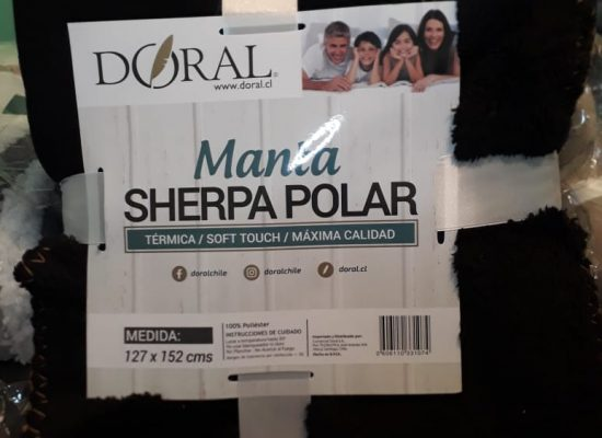 Manta sherpa polar (terminca)