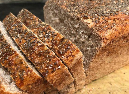 Pan Integral con centeno y semillas