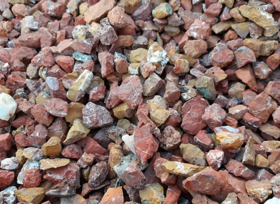 Piedra roja Jaspe