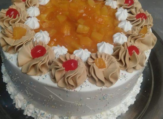 Torta Durazno Crema