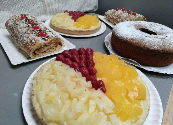 Variedad de preparaciones dulces