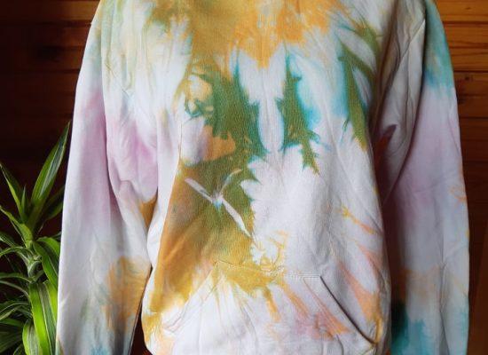 variedad en polerones Tie-dye