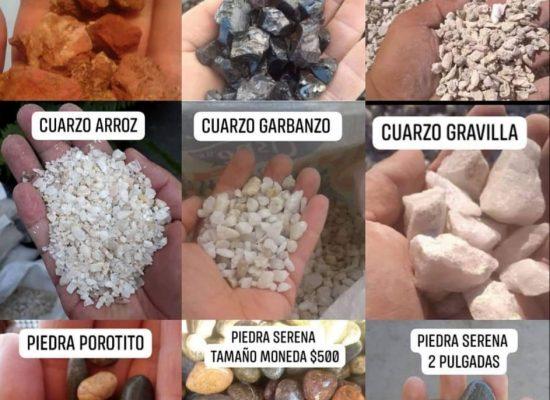 variedades de piedras